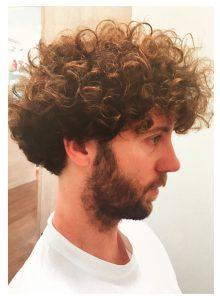 Tagli uomo capelli crespi