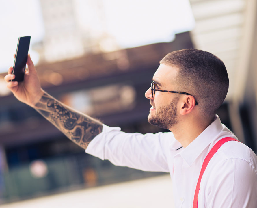 Amato Rasato con barba | L'Italiano Parrucchieri GR94
