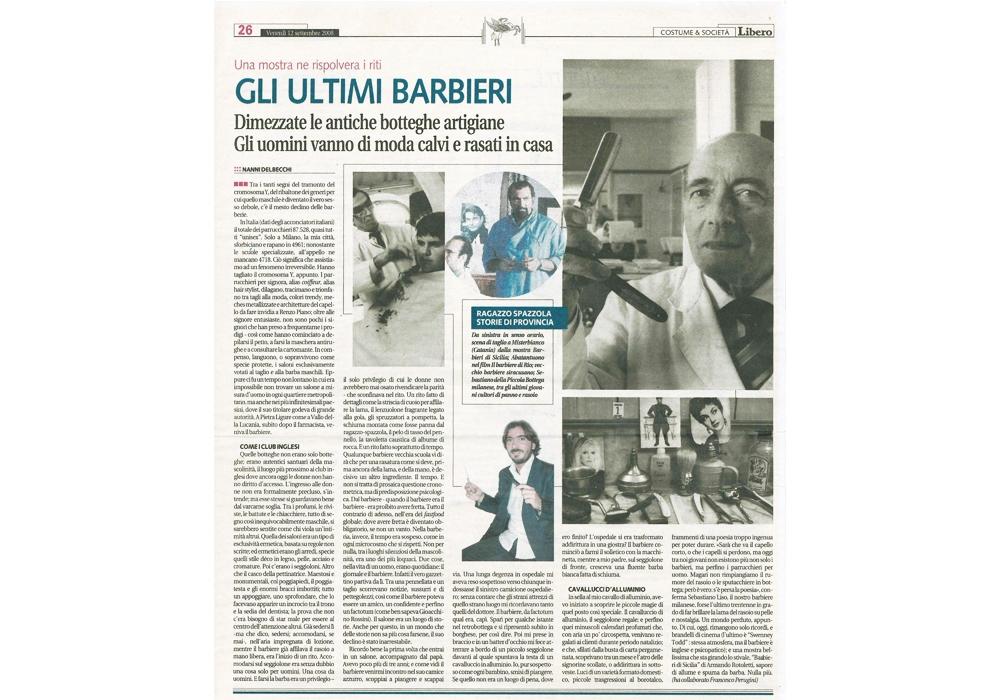 L'Italiano Parrucchieri Milano articolo su Libero