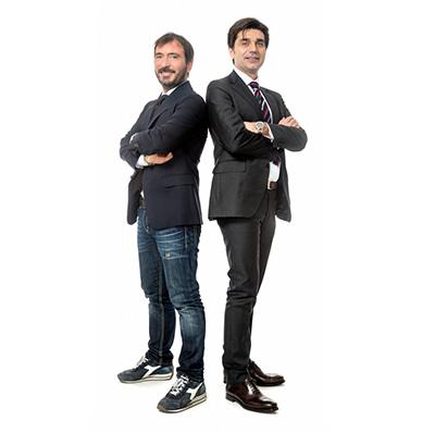 Sebastiano Liso e Rafaello Cirrito
