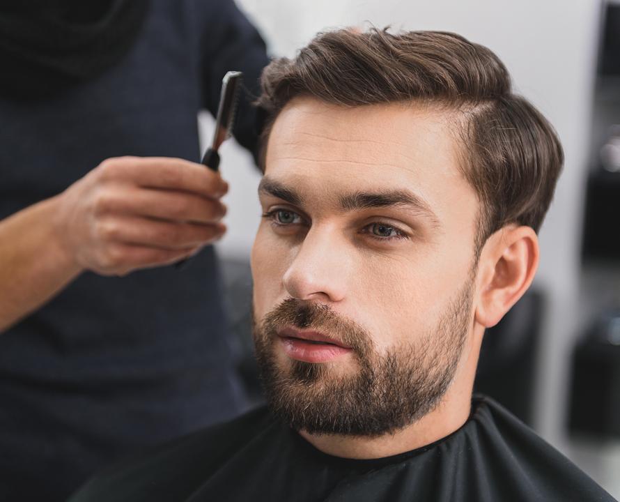 Pochi capelli taglio maschile