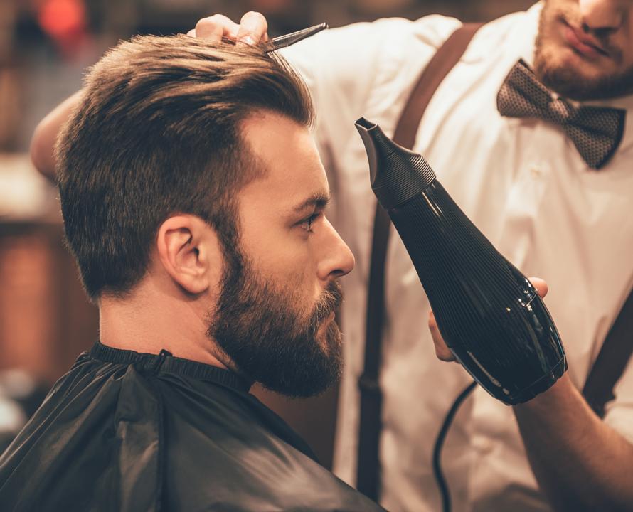 Come Asciugare I Capelli Delluomo Italiano Parrucchieri